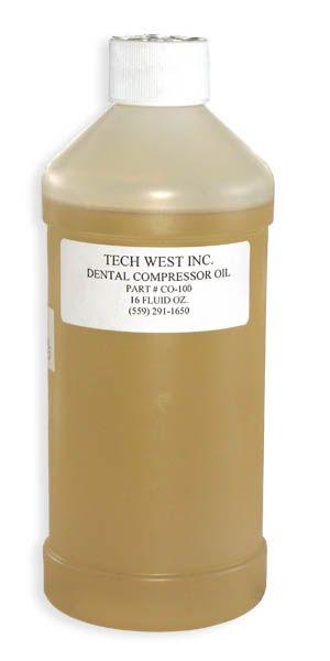 Tech, Oil, Compressor, 16oz bottle