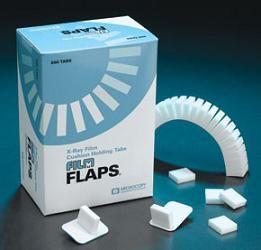 Microcopy, Sensor, Flaps, Film & Digital, Foam BiteTabs, Original, White, 500/Bx