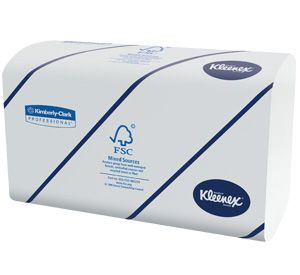 Sun, Towels, Kleenex, Inter fold, Super soft 2-ply, White 2820 Sheets, Kimberly