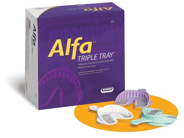Premier, Alfa-Trays, Medium, 24/box