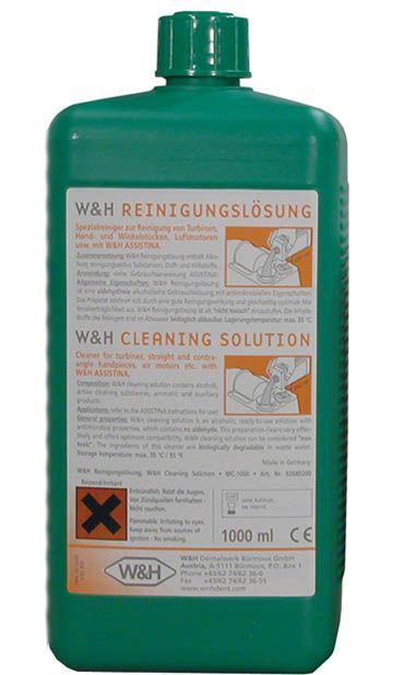 W&H, Maintanance Solution, MC1000, Cleaning liquid, 1l