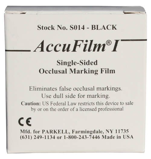 Parkell, Accu Film I, Single-sided, Red, 7/8