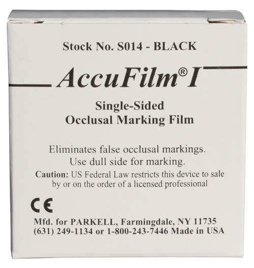 Parkell, Accu Film I, Single-sided, Black, 7/8