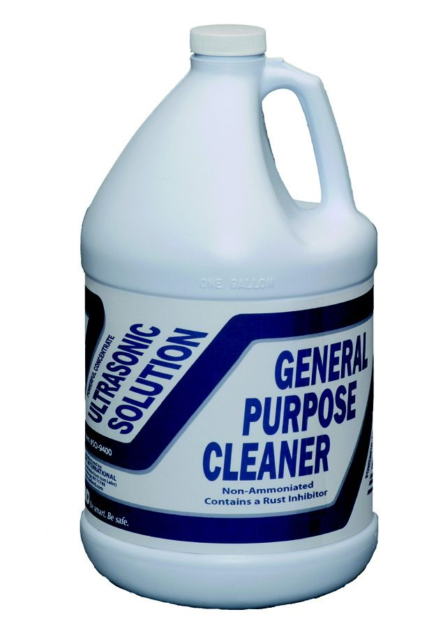 Defend, Ultrasonic Solution, General Purpose, Blue, 1 Gallon bottle