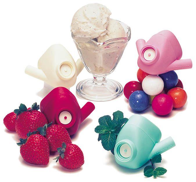 Accutron, Nasal hoods, Small variety (Orange, Strawberry, Bubble-gum), 24/pkg