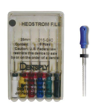 Maillefer, Hedstrom File, 31mm, Assorted #45-80, 6/Pk