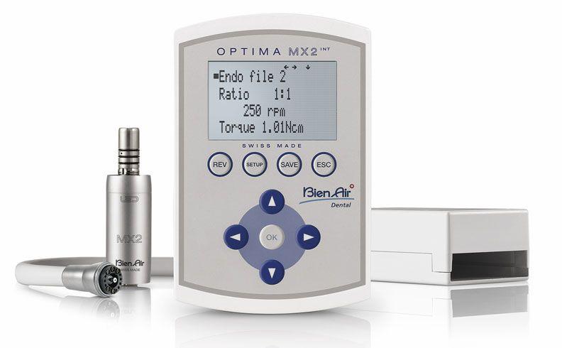 Bien Air, Optima, MX2 Pro, Micro-motor system, LED, Internal, w/Endo function