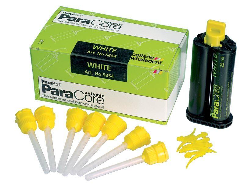 C-W, ParaCore, Cartridge 25ml, REFILL, Dentin, 25ml Cart. w/20 Mix & oral tips