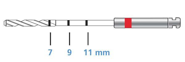 C-W, ParaPost XT, Drills, P623-0, 3/pk