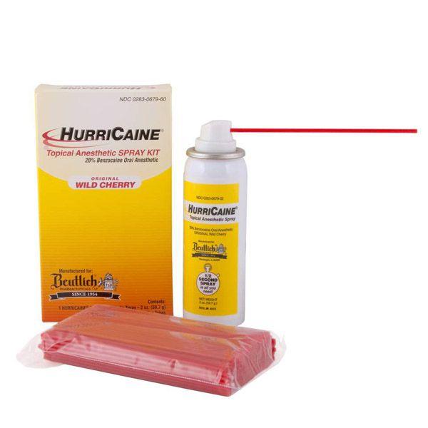 Beutlich, Hurricaine Topical Spray Kit