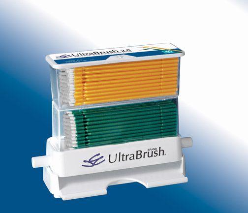 Microbrush, Ultrabrush 2.0, Kit, Regular, UB2 Dispenser w/100 Green brushes