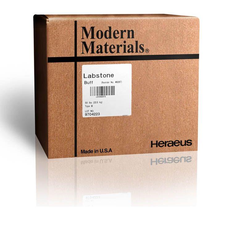 Kulzer, Modern materials, Stone, Lab, Type III, Buff, 25lb