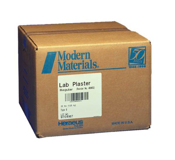 Kulzer, Modern materials, Plaster, Ortho, White, 25lb