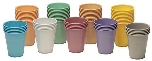 Medicom, Plastic cup, Yellow, 5oz., 1000/case
