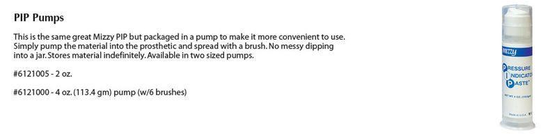 Keystone, Mizzy, Indicator Paste, PIP, 4oz Pump