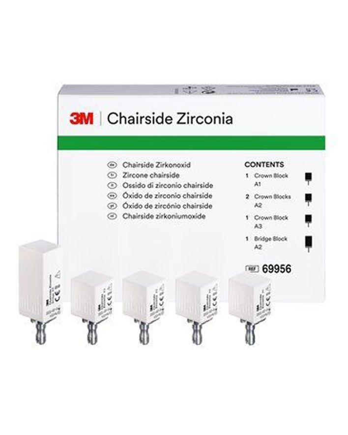 3M, Blocks, Zirconia, Cerec, Chairside, Chairside, Crowns, Intro Kit