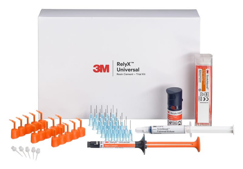3M, RelyX Universal, Resin Cement, Trial Kit, TR (Translucent)