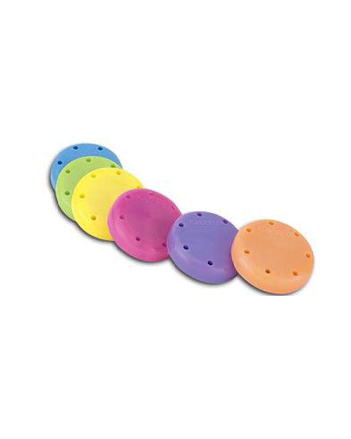Plasdent, Bur Block, Round, Small, Magnetic, Beige, 7H