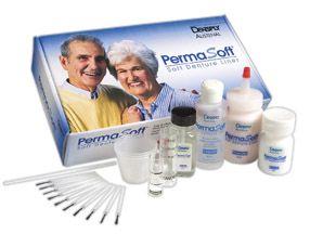 Austenal, Permasoft, Refill, Powder, Pink, 60g