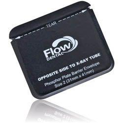 Flow, Safe 'n' Sure, Phosphor plate barrier envelopes, Size 0, 300/box