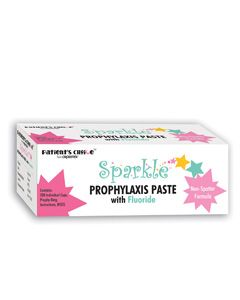 Crosstex, Sparkle Free, Prophy Paste Cups, Medium, Spearmint, 200/pk