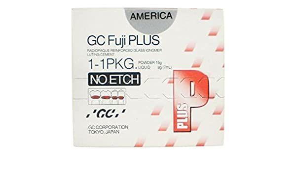 GC, Fuji Plus, Powder/Liquid, No Etch