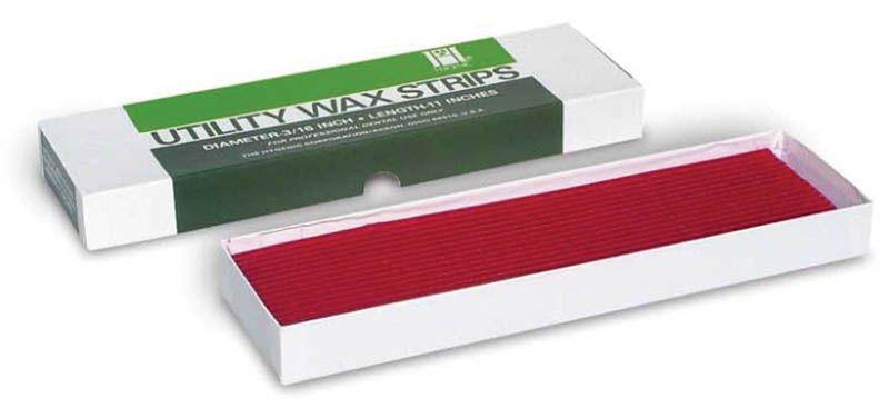 Hygenic, Wax strips, Utility, Red, Box, 80 pcs.