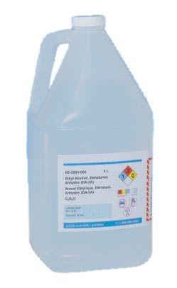 BM Group, BM-4200, Ethyl Alcohol, Denatured, 4L [HAZ]