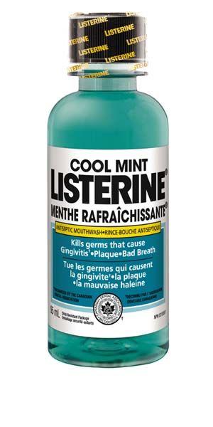 J&J, Listerine, Cool Mint, Trial size, 24 - 95ml/Case