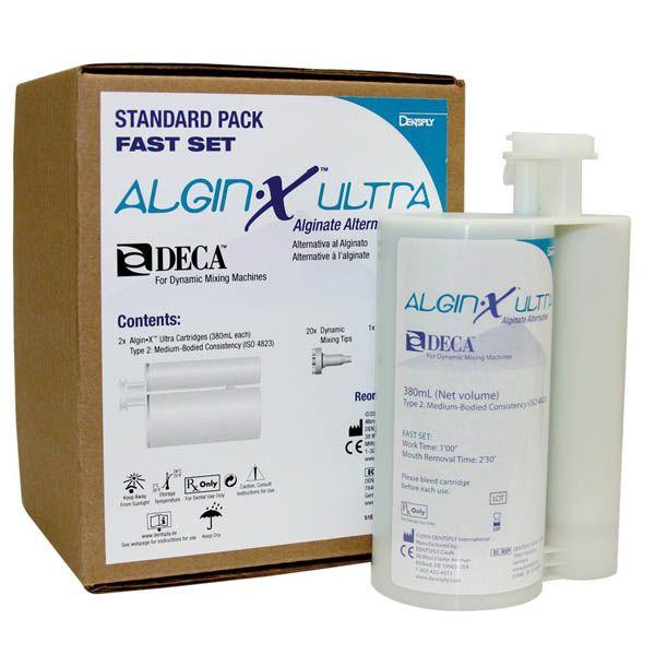 Caulk, Algin-X Ultra, DECA, 2 - 380ml Cartridges, w/20 - Mixing tips