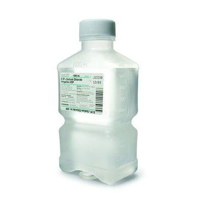 Sun, Sodium Chloride, 0.9%, Braun R5200, 1000ml Bottle -Non-Returnable-