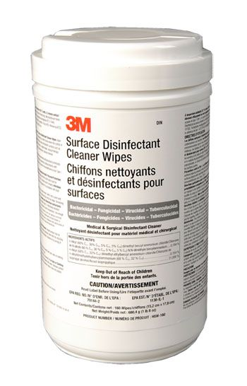 3M, Bracket, for Surface Disinfectant Cleaner Wipes,Each