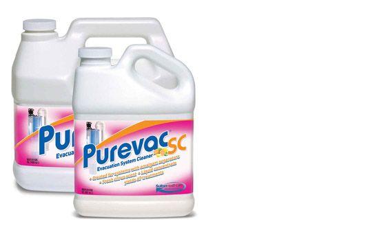 Sultan, PUREVAC SC, Evacuation System Cleaner, 5 Litres & pump