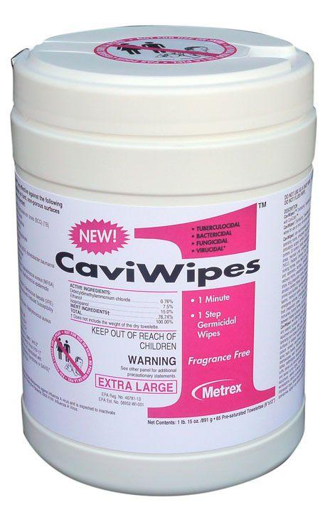 Metrex, CaviWipes1, Towelettes, XL, 9
