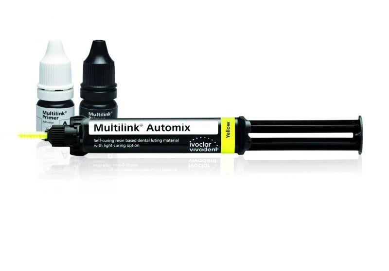 Ivoclar, Multilink, Automix System Pack, Transparent, Easy/M+