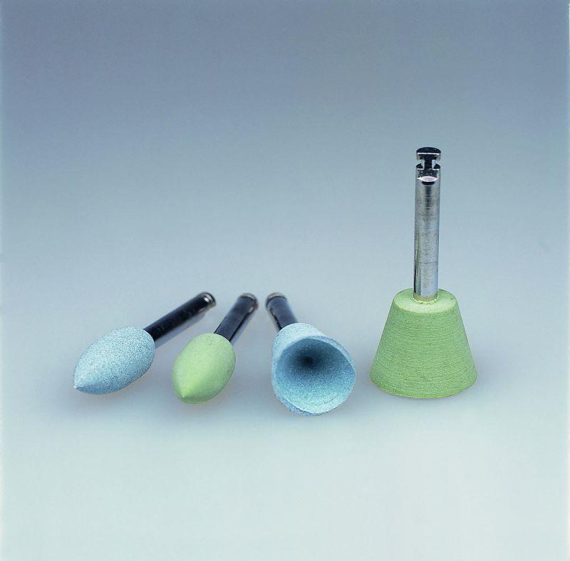 Ivoclar, Politip, Polishers, Green, Large Cups (C), 6/pkg