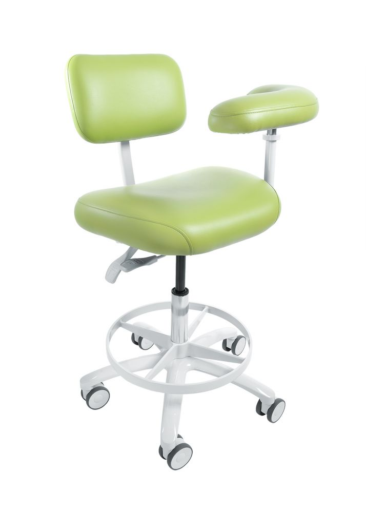 Bel, Stool, Assistant, 107S, Evogue, w/Tel Can, Contoured seat