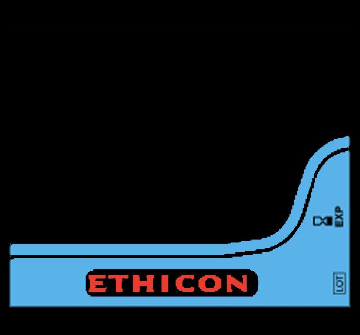 J&J, Sutures, Ethicon, Prolene, Blue, 6-0, P-3 Needle, 8695G, 12/Bx