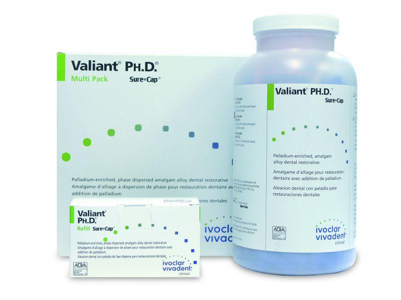 Ivoclar, Valiant, Ph.D. 3 Spill, 500 - 800mg capsules