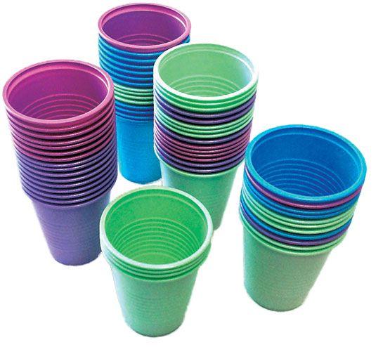 Supermax, Aurelia, Cup, Plastic, 5oz, Pink, 1000/case