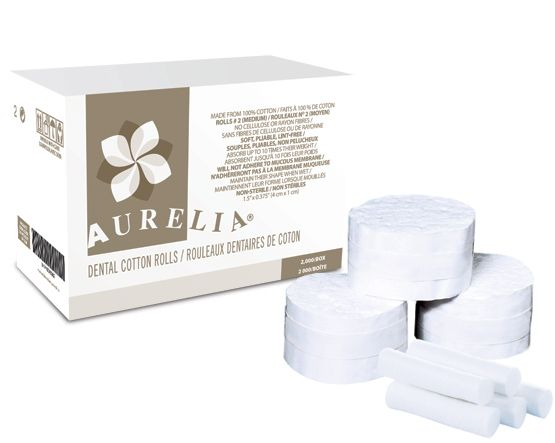 Supermax, Aurelia, Cotton Rolls, 1.5