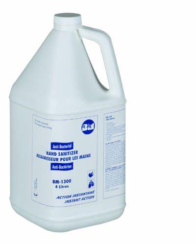 BM Group, BM 1300, Antibacterial Hand Gel, 230ml Countertop dispenser