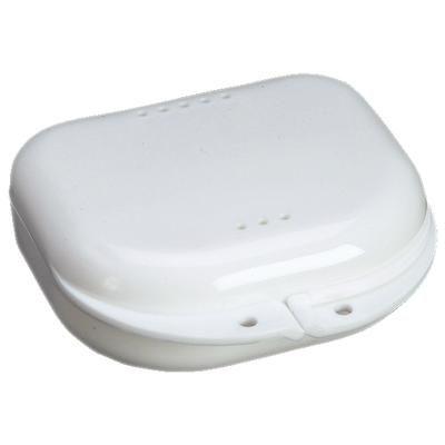 Plasdent, Retainer Box, White, 12/pc