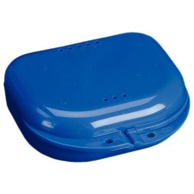 Plasdent, Retainer Box, Chroma, Dark Blue, w/ Label, 12/pc