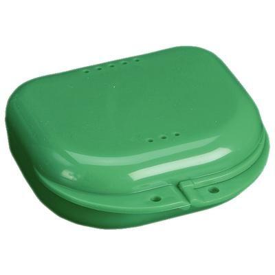 Plasdent, Retainer Box, Chroma, Grass Green, w/ Label, 12/pc
