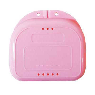 Plasdent, Retainer Box, Chroma, Light Pink, w/ Label, 12/pc