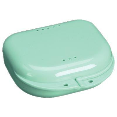 Plasdent, Retainer Box, Chroma, Mint Green, w/ Label, 12/pc