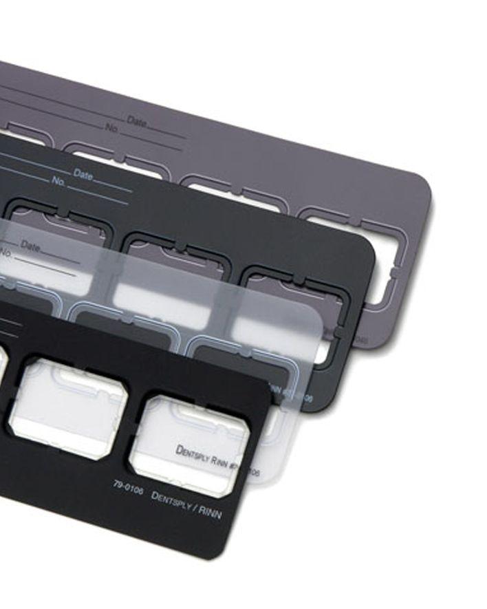 Rinn, Mount, EZ-Tab, Grey, 2H#2, 30-6021, 100/box