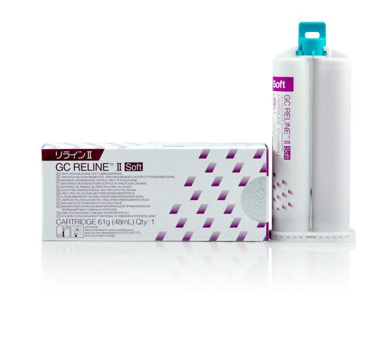 GC, Reline II, Soft, Refill Cartridge, 48ml