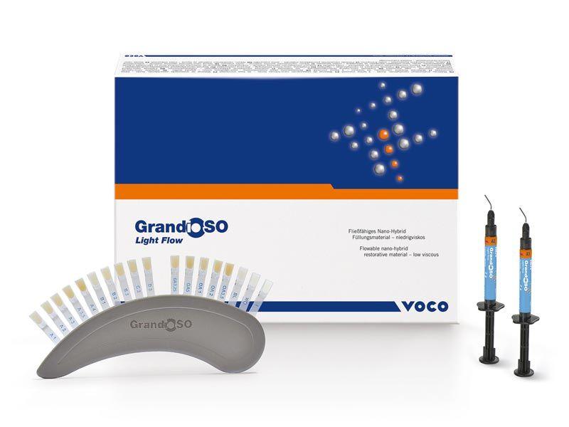 Voco, GrandioSO Light Flow, Syringes, Refill, A2, 2 - 2g